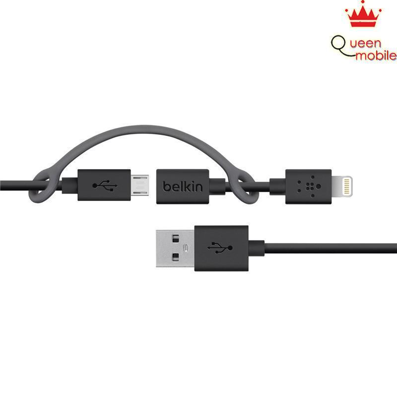 Đầu sạc Belkin 2 cổng USB 2.1A, xoay - F8J107ttWHT