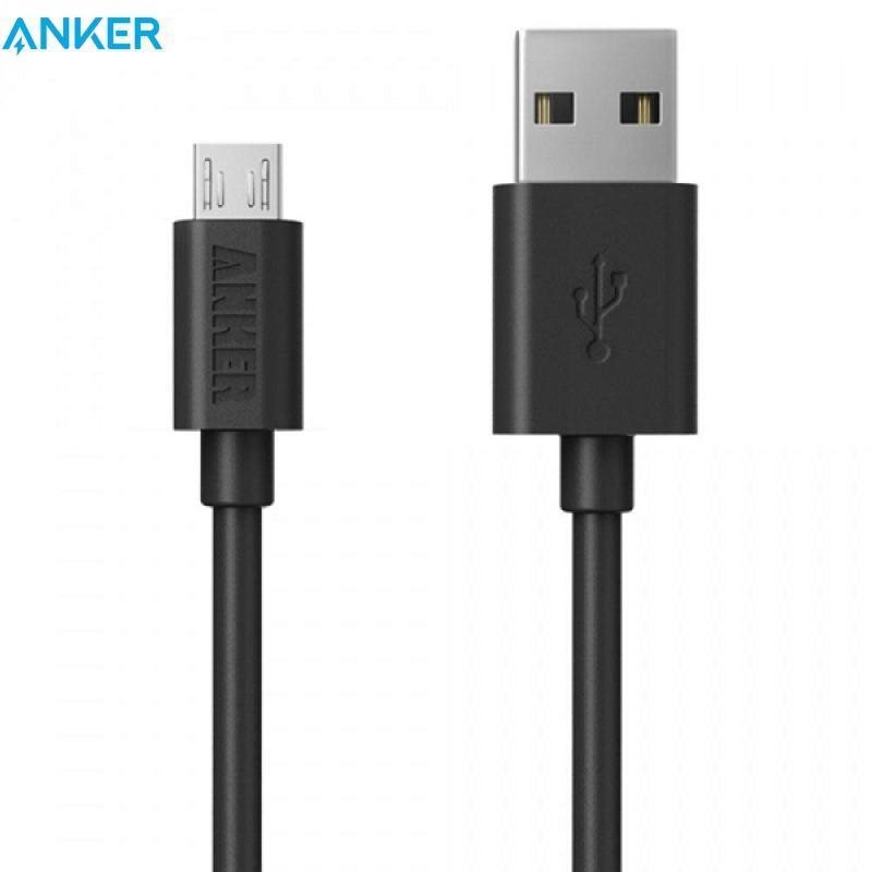 Cáp Anker dành cho điện thoại android Micro USB Anker - Dài 3m - A7105