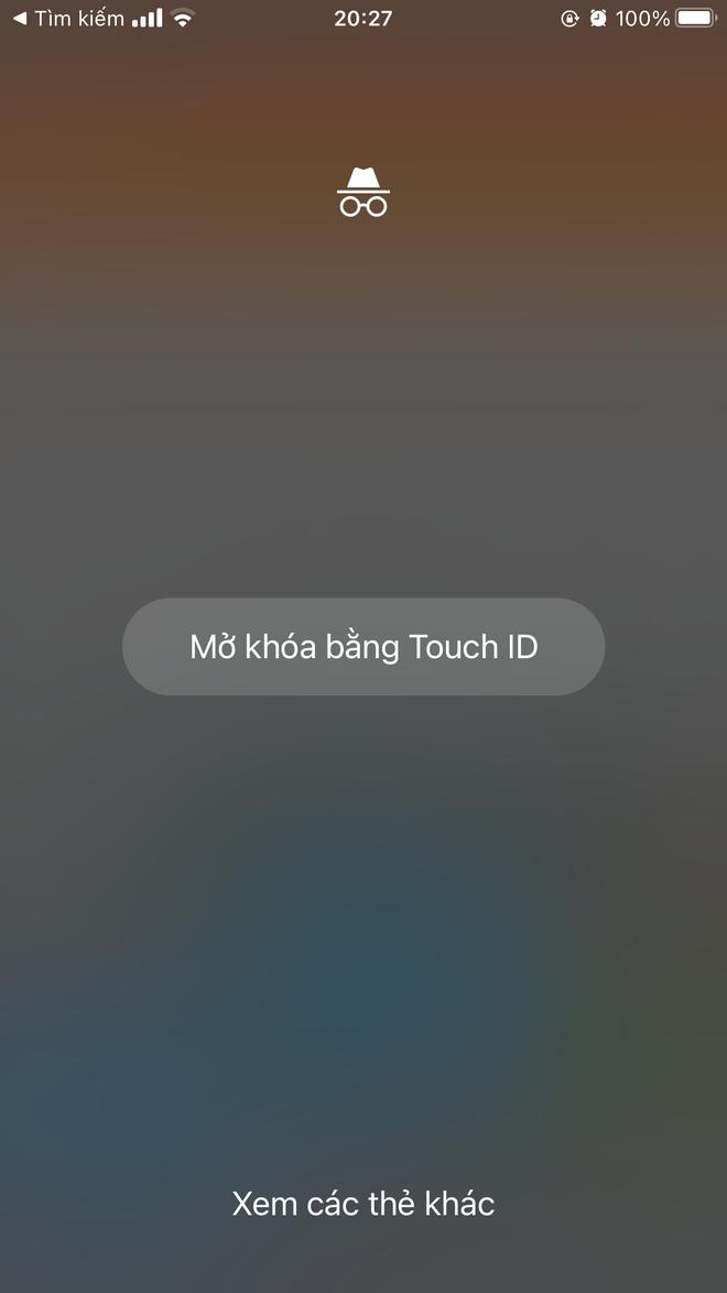 """Cách khoá luôn tab ẩn danh trên iPhone bằng Face ID, từ nay đố ai """"rình mò"""" gì được!"""