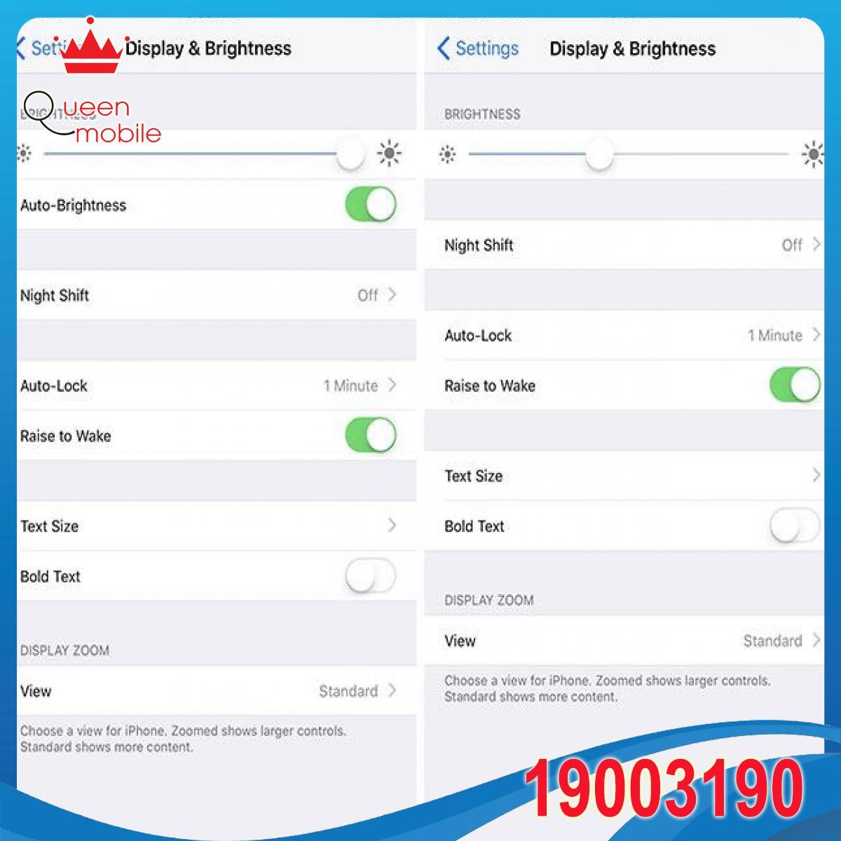 Cách bật tính năng 'Độ sáng tự động' trên iOS 11