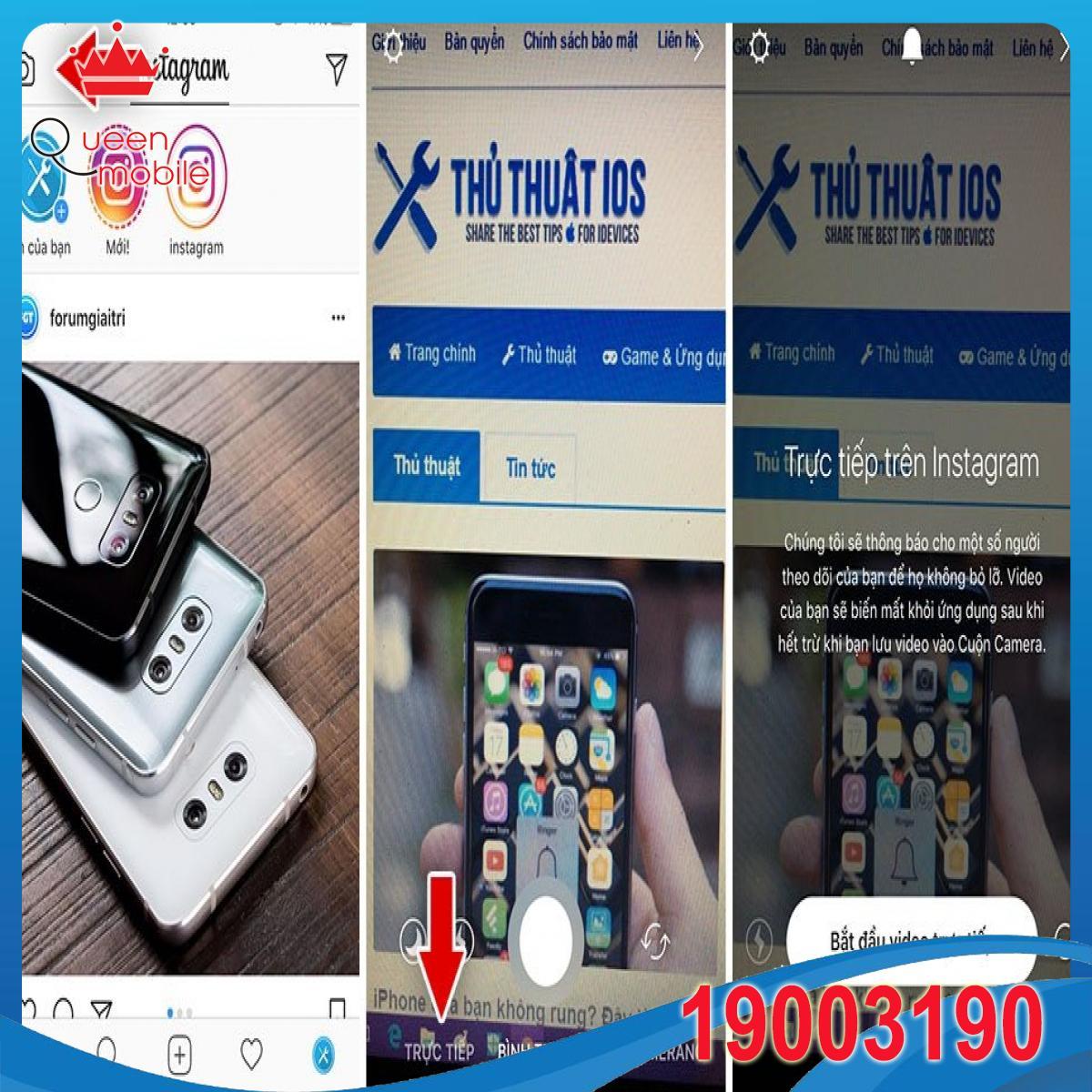 Cách lưu video trực tiếp của bạn trên Instagram vào iPhone